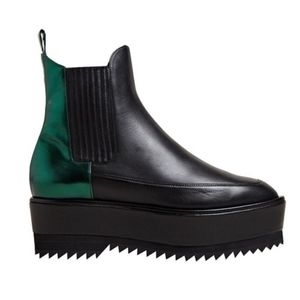 Damir Doma Fresia Platform Chelsea Boots 6